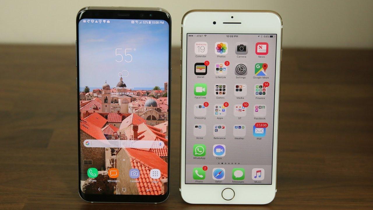 iphone 7 plus vs