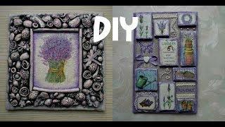 Two panels 'Lavender mood' \ Workshop # panels # Provence # lavender #DIY