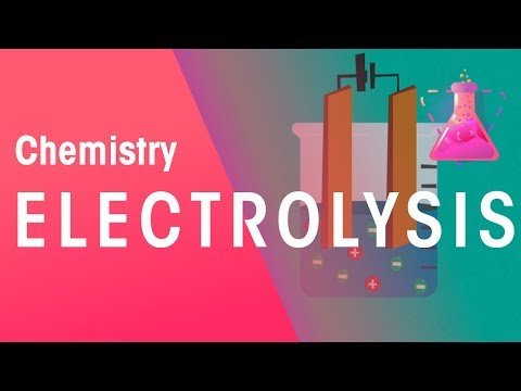 What Is Electrolysis | Reactions | Chemistry | FuseSchool