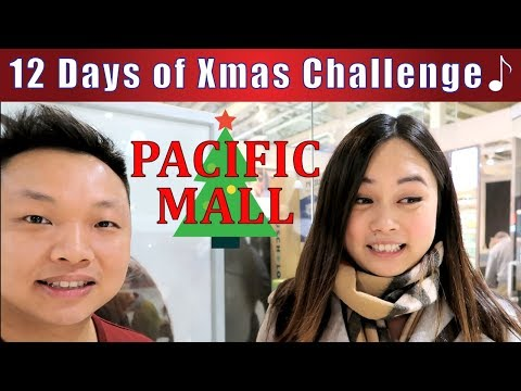 12 Days of Christmas Challenge at Pacific Mall | Asian Shopp