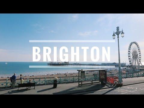 exploring brighton, uk.