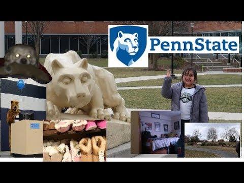 VLOG #5: Visiting Penn State Harrisburg, Campus & Dorm Tour