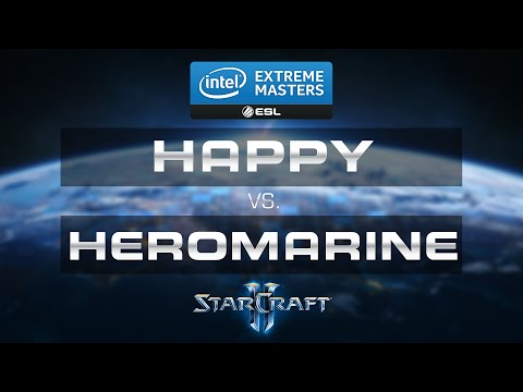 StarCraft 2 - Heromarine vs Happy(TvT) - IEM 2015 Gamescom - Group A