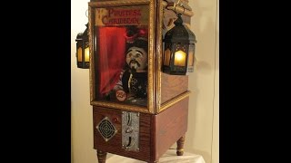 Handmade Coin-Op Automaton / Robot * Disney's