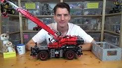 Das größte Technic-Set aller Zeiten: LEGO® 42082 - Geländegängiger Kranwagen