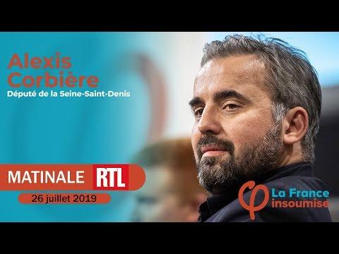 """""""Face à la chaleur c'est pas le grand show que nous demandons aux ministres"""" Alexis Corbière, RTL"""