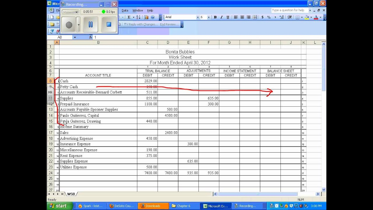 Where do you find for Glencoe Accounting