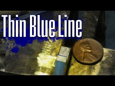 Thin Blue Line: Making a Custom Milling Cutter