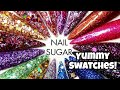 Glitter Swatches!   Nail Sugar