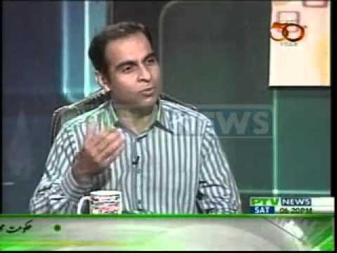 Qasim Ali Shah   Ali Abbas   Ameer Abbas at PTV News  (waqas)
