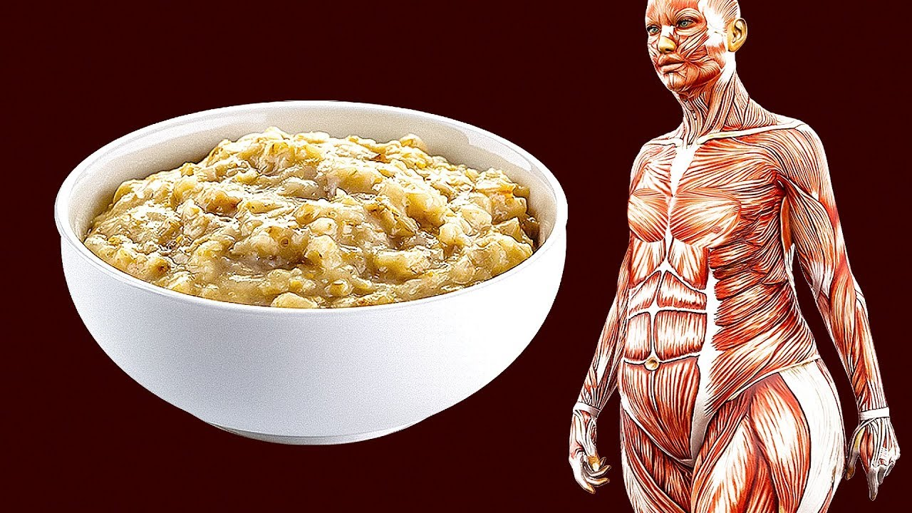 Oatmeal helps lose belly fat