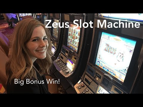 Zeus Slot Machine! Bonus BIG WIN!!! Max Bet!