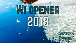 Opening Fishing Weekend in Eagle River, Wisconsin, 2018