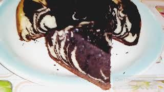 Лакомство к Чаю Пирог Зебра Рецепт Очень Вкусного и Быстрого Пирога в Мультиварке