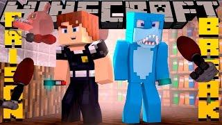 Minecraft PRISON BREAK -SAVING SCUBA STEVE!!