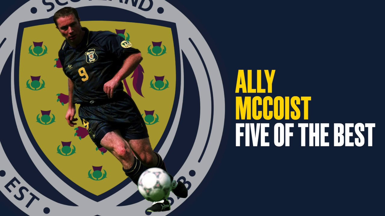 Ally McCoist | Five of the Best Goals For Scotland