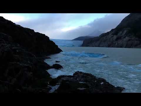 Grey Gletscher vom Camp Grey
