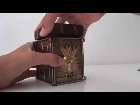 YU-GI-OH!!!!!!!card BOX in resina