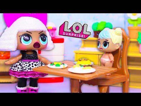 видео: Куклы ЛОЛ Смешные мультфильмы с куклами lol surprise #19