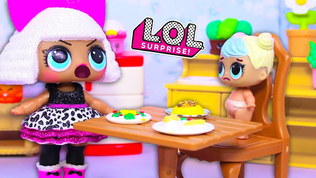 Куклы ЛОЛ Смешные мультфильмы с куклами LOL Surprise #19 ...