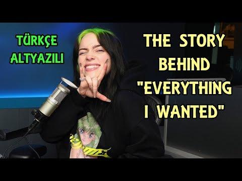 Everything I Wanted - Billie Eilish Explains The Meaning (Türkçe)