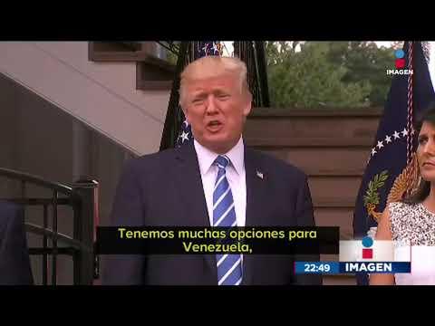 Donald Trump lanza amenaza a Venezuela | Noticias con Ciro Gómez Leyva