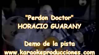 "Horacio Guarany ""Perdon Doctor"" DEMO PISTA KARAOKE INSTRUMENTAL FOLKLORE"