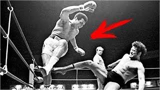 Моххамед Али в ММА! Реальный бой vs. Каратист-борец