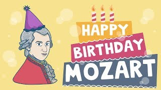 Happy Birthday Mozart - Music Notes - Hoffman Academy