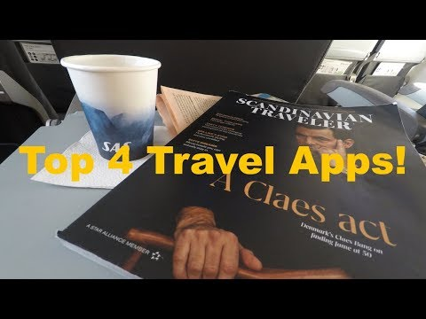 Top 4 Travel Apps! + TRIP REPORT