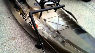 fishing kayak setup lifetime sport fisher angler