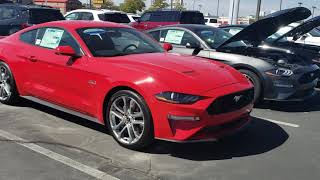 Ford Mustang GT 2018 and 2019 Overview