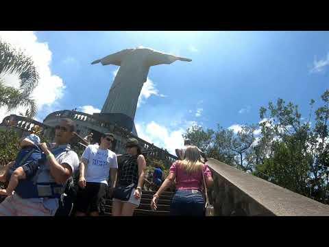 Cristo redentor e pão  de açúcar  - Rio de Janeiro