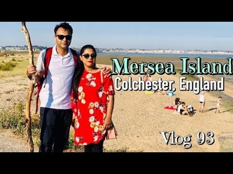 A Fun Trip With Friends || MERSEA ISLAND, Colchester, England||Travel Vlog