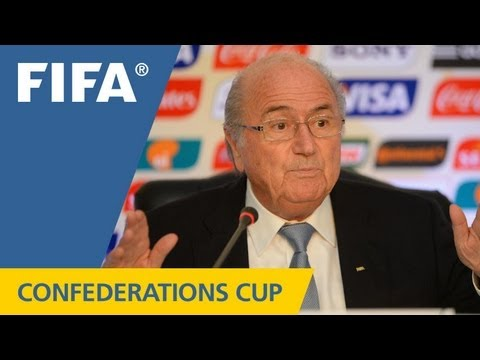 REPLAY: FIFA Confederations Cup wrap-up media briefing - Part 1