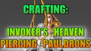 DOTA 2 Crafting: Invokers Heaven-Piercing Pauldrons - Mythical