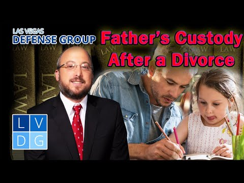 Can a father get child custody in Nevada?