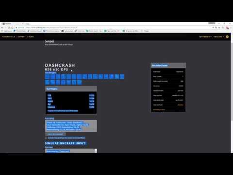 Tutoriel SimulationCraft / Raidbot