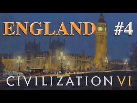 Let's Play Civilization 6 – England #4: Flucht durch die Eastern Desert (Community-LP / deutsch)