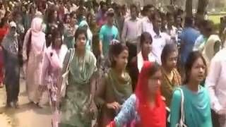 Mymensingh News 03 04 14 BAU Arrest