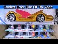 2019 Q Coolest Error Find Of The Year! USA Hot Wheels Case Unboxing Video