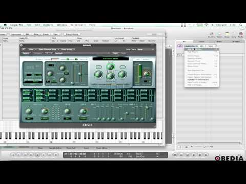 Use your sampled sounds in Logic Pro's EXS24 sampler