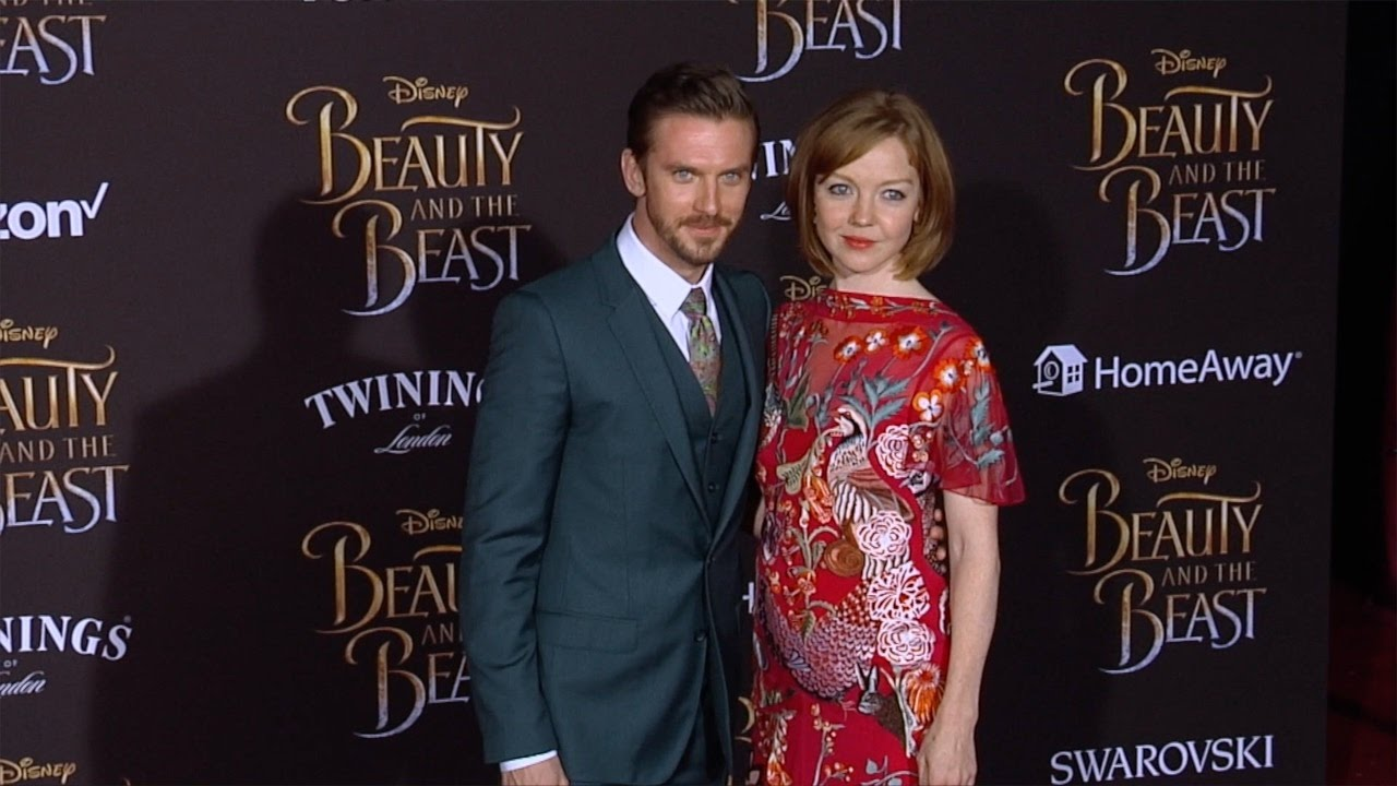 Dan Stevens And Susie Hariet Beauty The Beast World Premiere Red Carpet