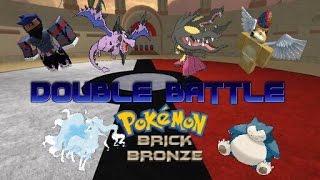 Pokemon Brick Bronze - Doขble Battles w/ Jsong2013