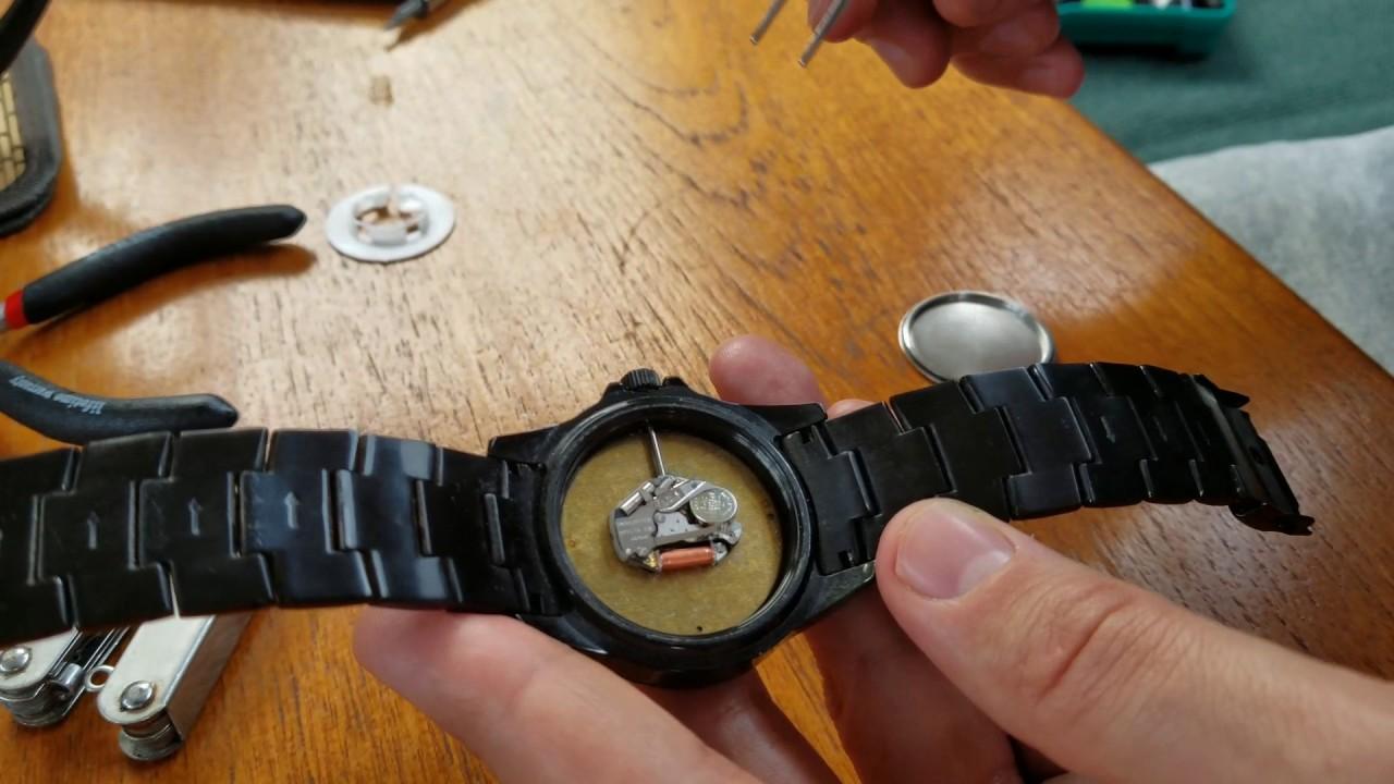 clásico diseño unico Reino Unido DIY watch battery replacement of Japan Movement Geneva based ...