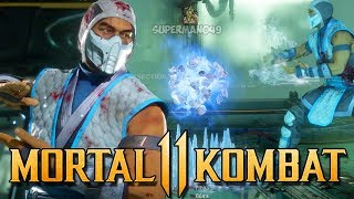 "50% Damage Combo With Sub-Zero's New Ice Clone Move! - Mortal kombat 11: ""Sub-Zero"" Gameplay / Видео"