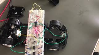 EE333 Laser Car Control Prototype (Front Wheel)