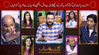 Gustakhiyan by Haroon Rafique Season 01 Episode 34 19.04.21(Social Media Crush Went Wrong )