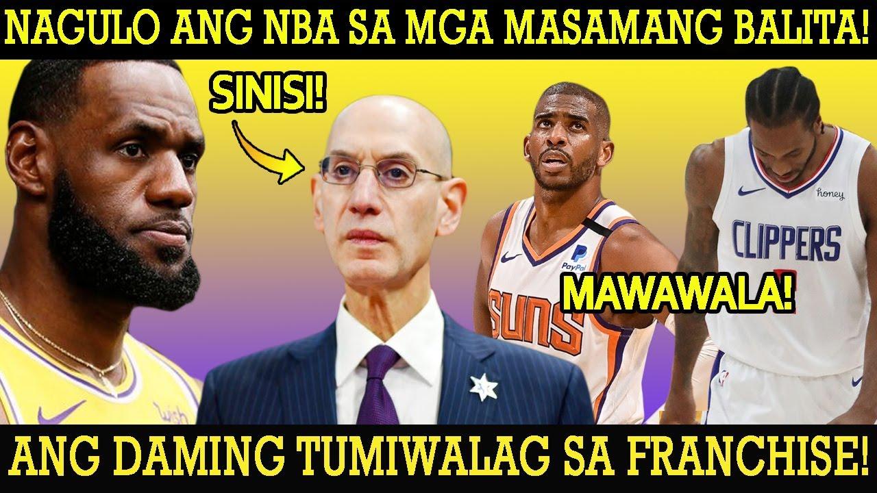 GUMULO ANG NBA SA MASAMANG BALITA! DAMING NAG PART WAYS! LEBRON SINISI ANG NBA! LAGOT ANG SUNS NITO!