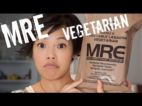 Vegetarian MRE Menu 11: Vegetable Lasagna - tasting a Meal, Ready-to-Eat